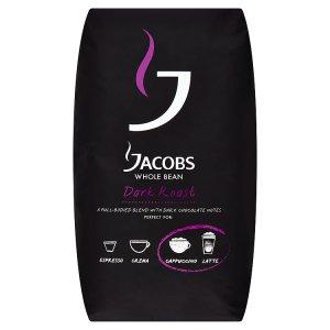 Jacobs Roast káva pražená zrnková 1000g, vybrané druhy