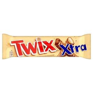 Twix Xtra sušenka s karamelem máčená v mléčné čokoládě 2 x 37,5g