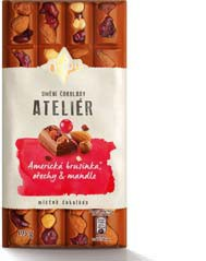 ORION Ateliér čokoláda 195g, vybrané druhy