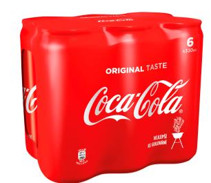 Coca-Cola 6 x 330ml