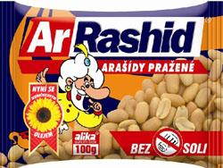 ArRashid arašídy 100g, vybrané druhy