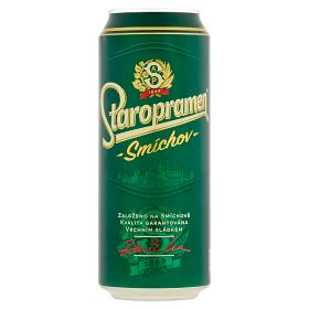 Staropramen Smíchov pivo výčepní světlé 0,5l (plech)