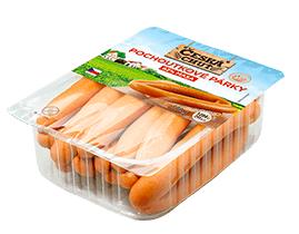 Česká chuť Pochoutkové párky 500g