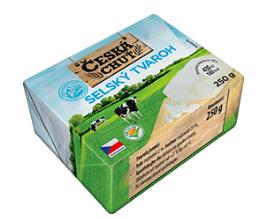 Česká chuť Selský tvaroh 250g