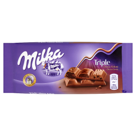 Milka čokoláda 90 g, vybrané druhy