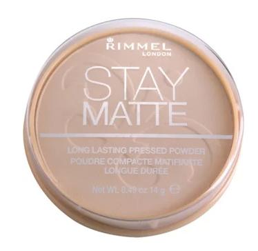 Rimmel Stay matte matující pudr