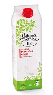 Nature's Promise Bio mléko čerstvé 1 l