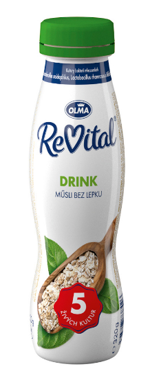 Olma ReVital nápoj ochucený 320 g v akci