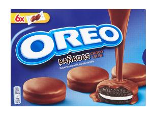 Oreo Banadas máčené v čokoládě 246 g, vybrané druhy