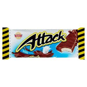 Sedita Attack Oplatky s mléčnou náplní v mléčno-kakaové polevě 30g