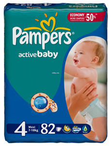 Pampers Aktive Baby