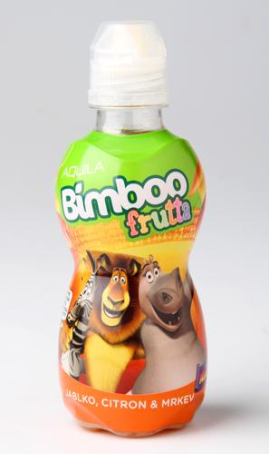 Bimboo frutta Jablko, citron, mrkev, ovocný nápoj