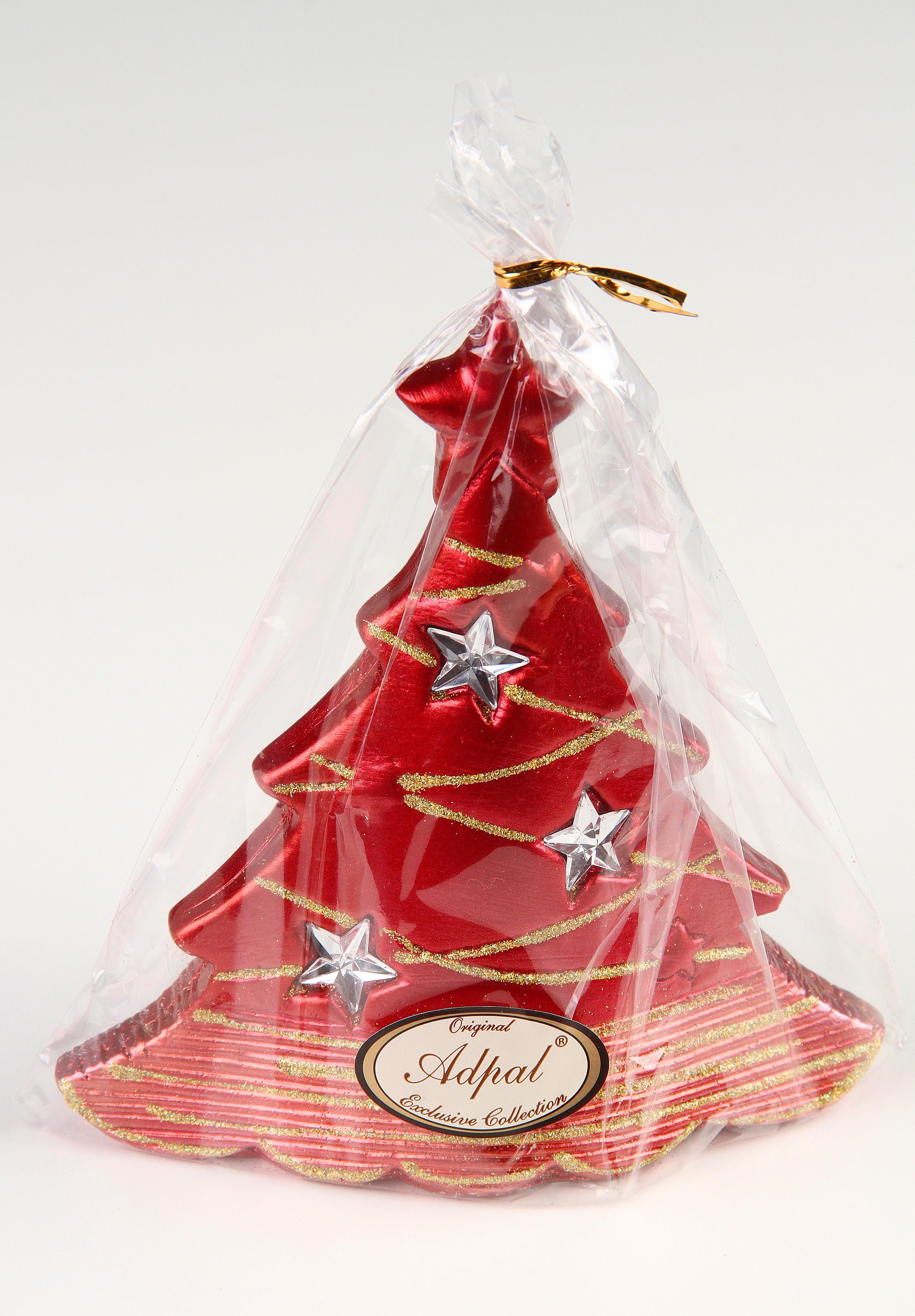 Vánoční stromek metalický zdobený