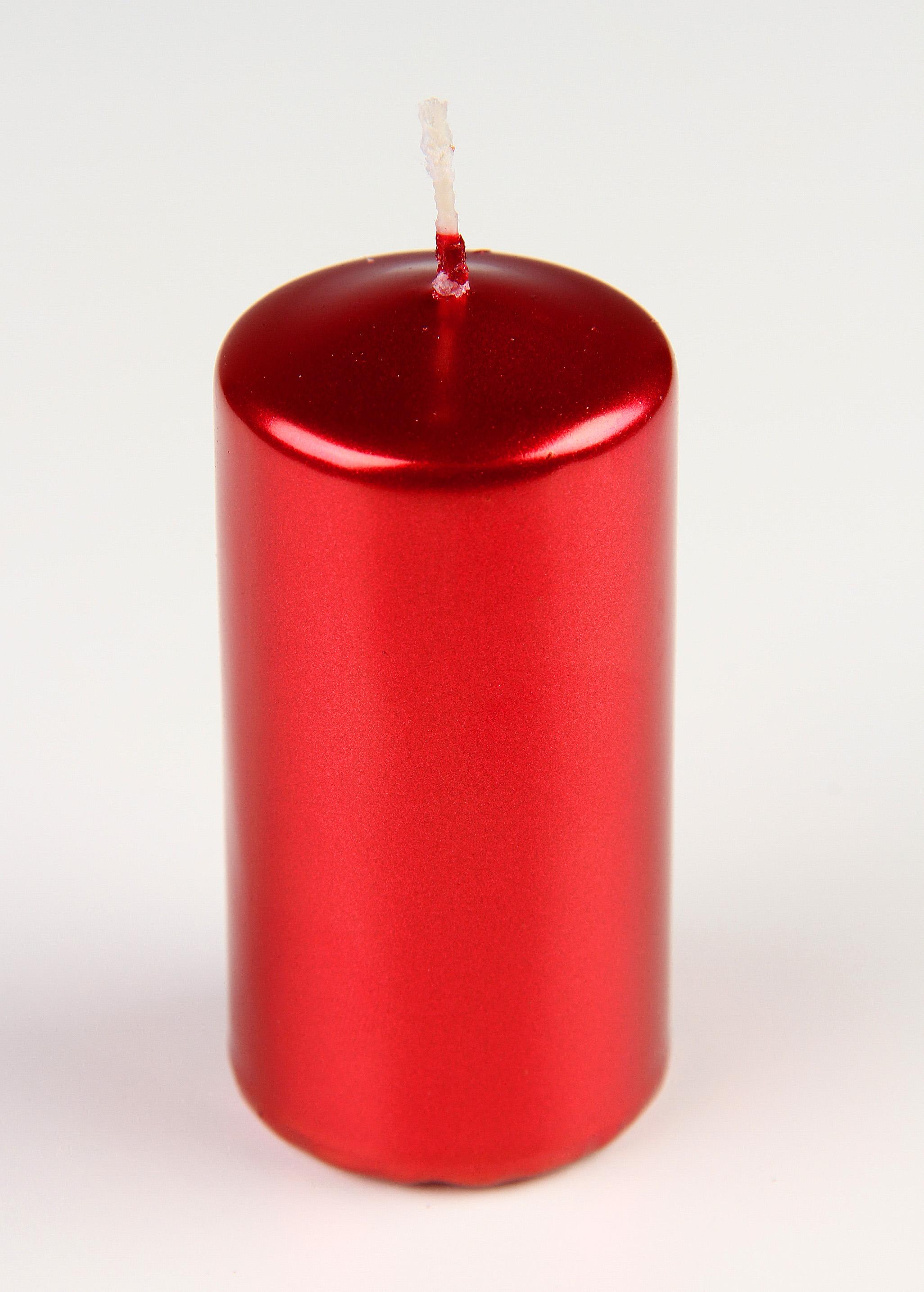 Svíčky na adventní věnec metalické