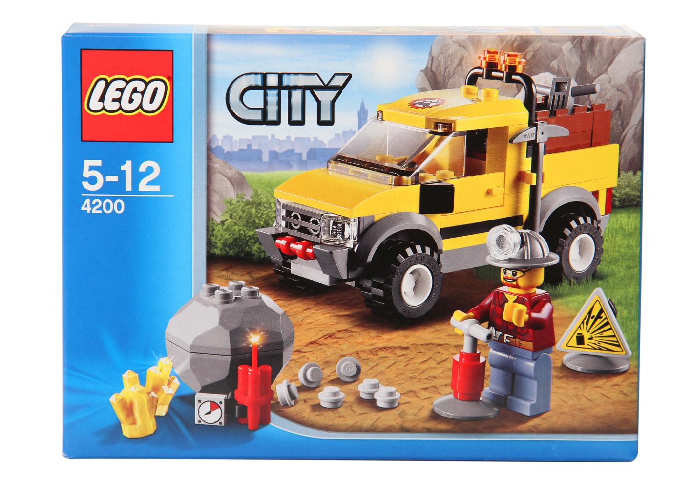 Lego City - Těžba 4200