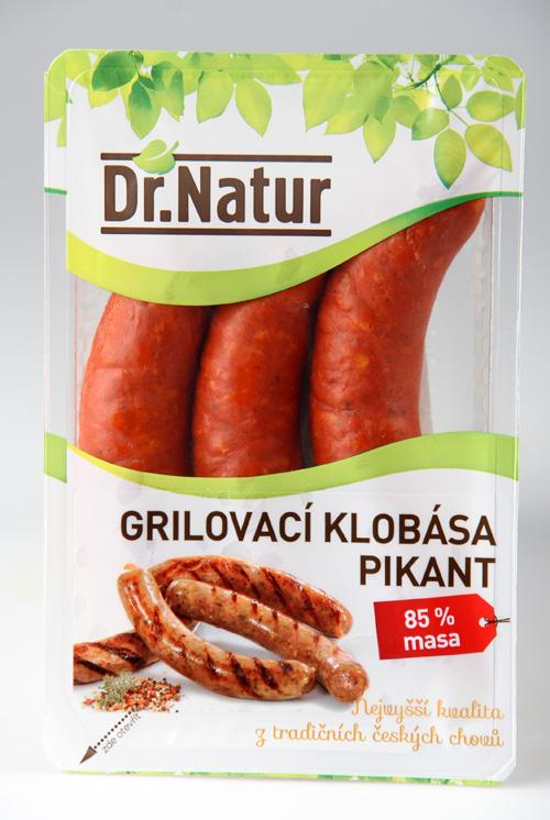 Dr. Natur Grilovací klobása Pikant