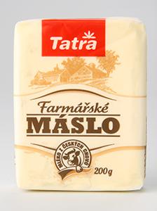Tatra Farmářské máslo 84% KLASA