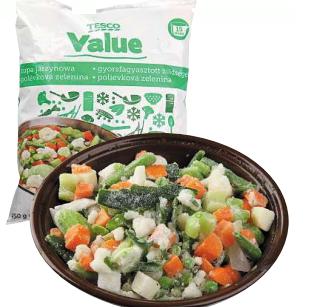 Tesco Value Polévková zelenina