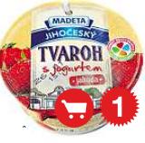 Madeta Jihočeský tvaroh s jogurtem