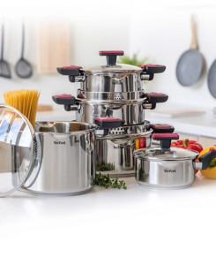 Sada nádobí Cook a clip